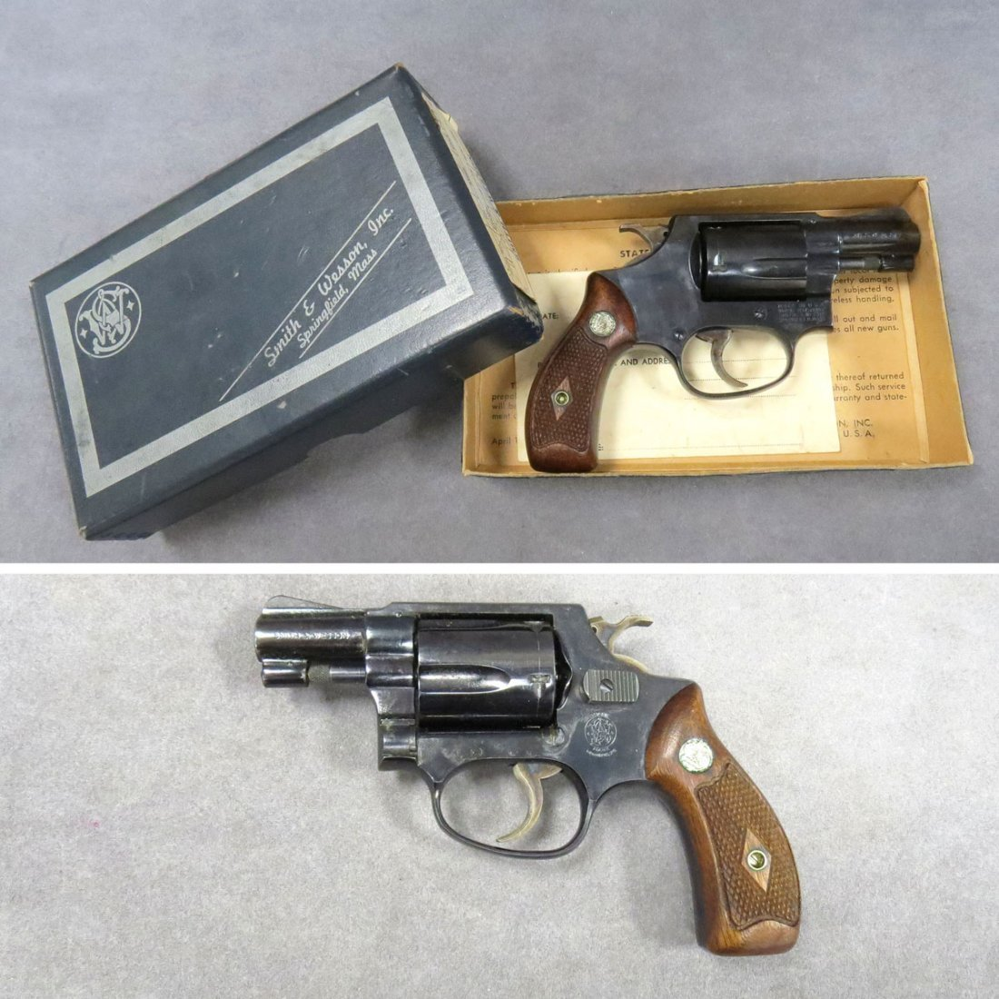 **RESTRICTED** SMITH & WESSON MODEL 36, .38 CAL