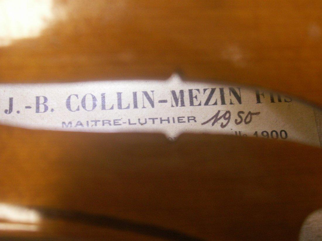 CH. J.B. COLLIN-MEZIN FILS LABELED VIOLIN - 2