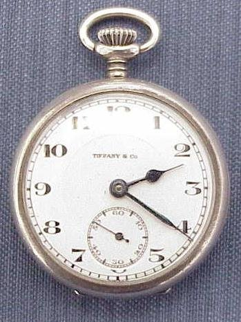 4: TIFFANY/CONCORD WATCH CO. STERLING LADIES