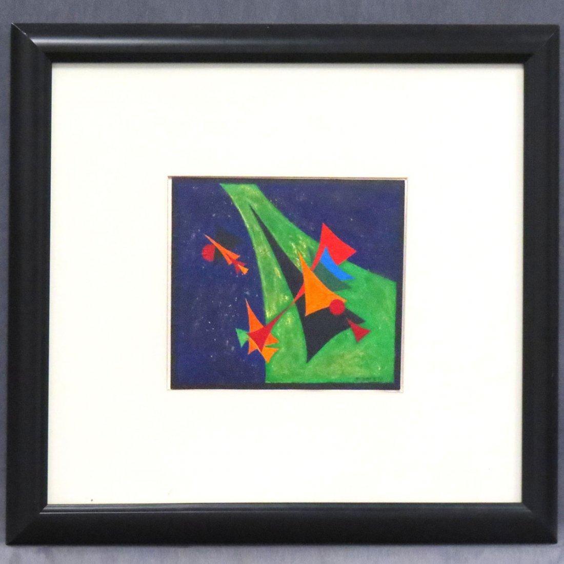 ROLPH SCARLETT (AMERICAN 1899-1984), OIL ON PAPER