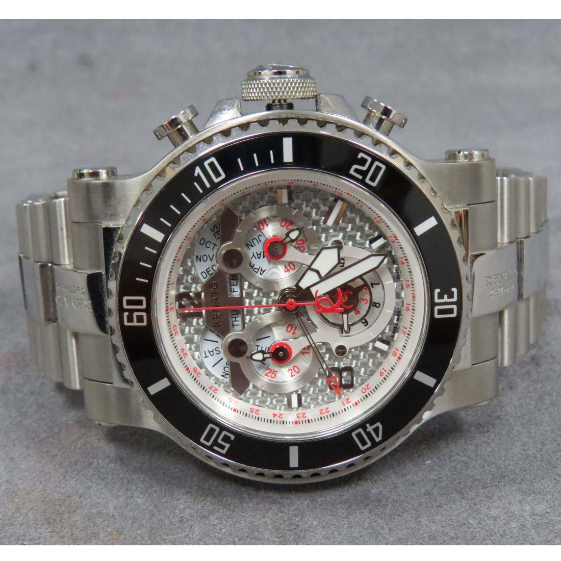 RENATO STAINLESS LIMITED EDITION #64/115, WATCH