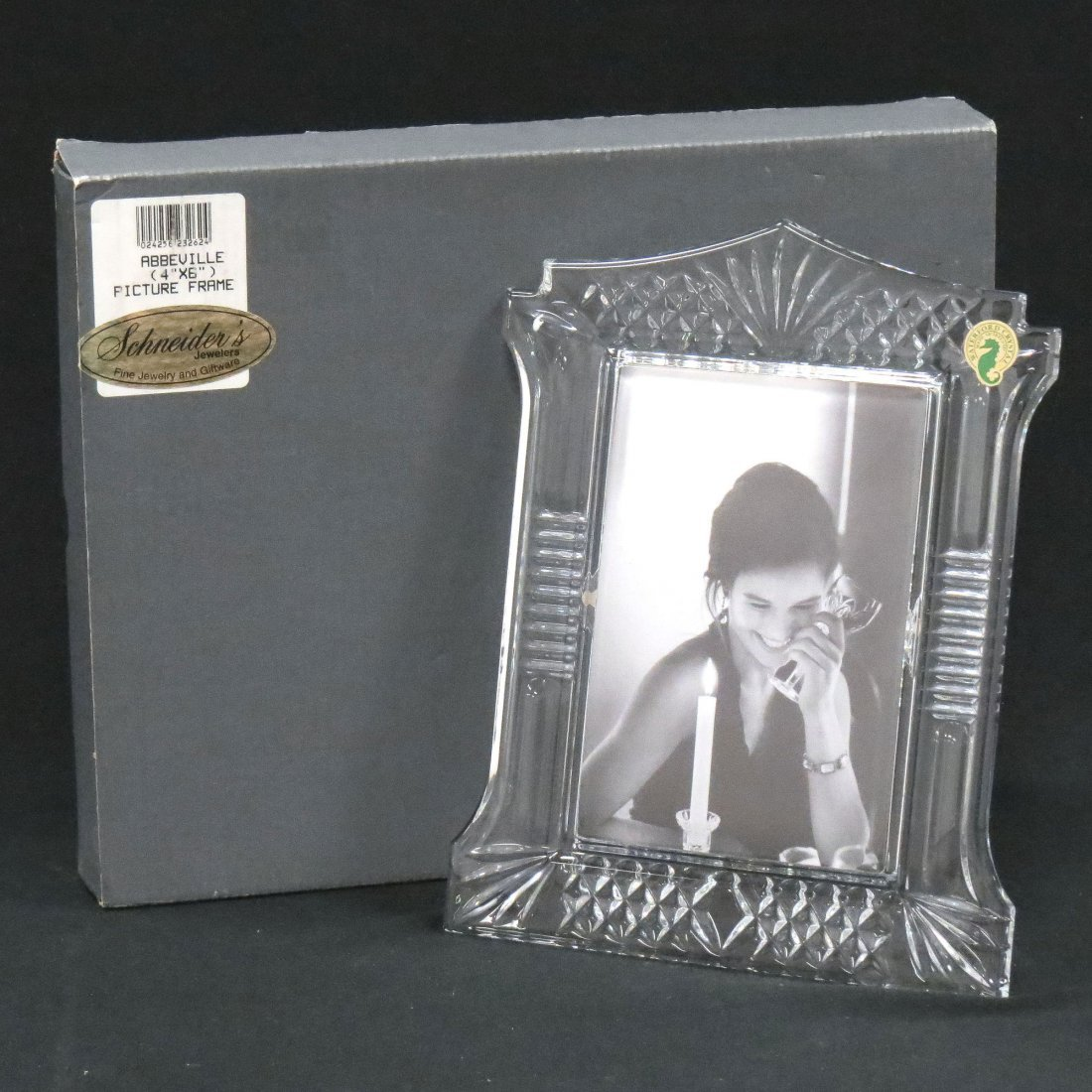 "WATERFORD CRYSTAL ""ABBEVILLE"" PICTURE FRAME"