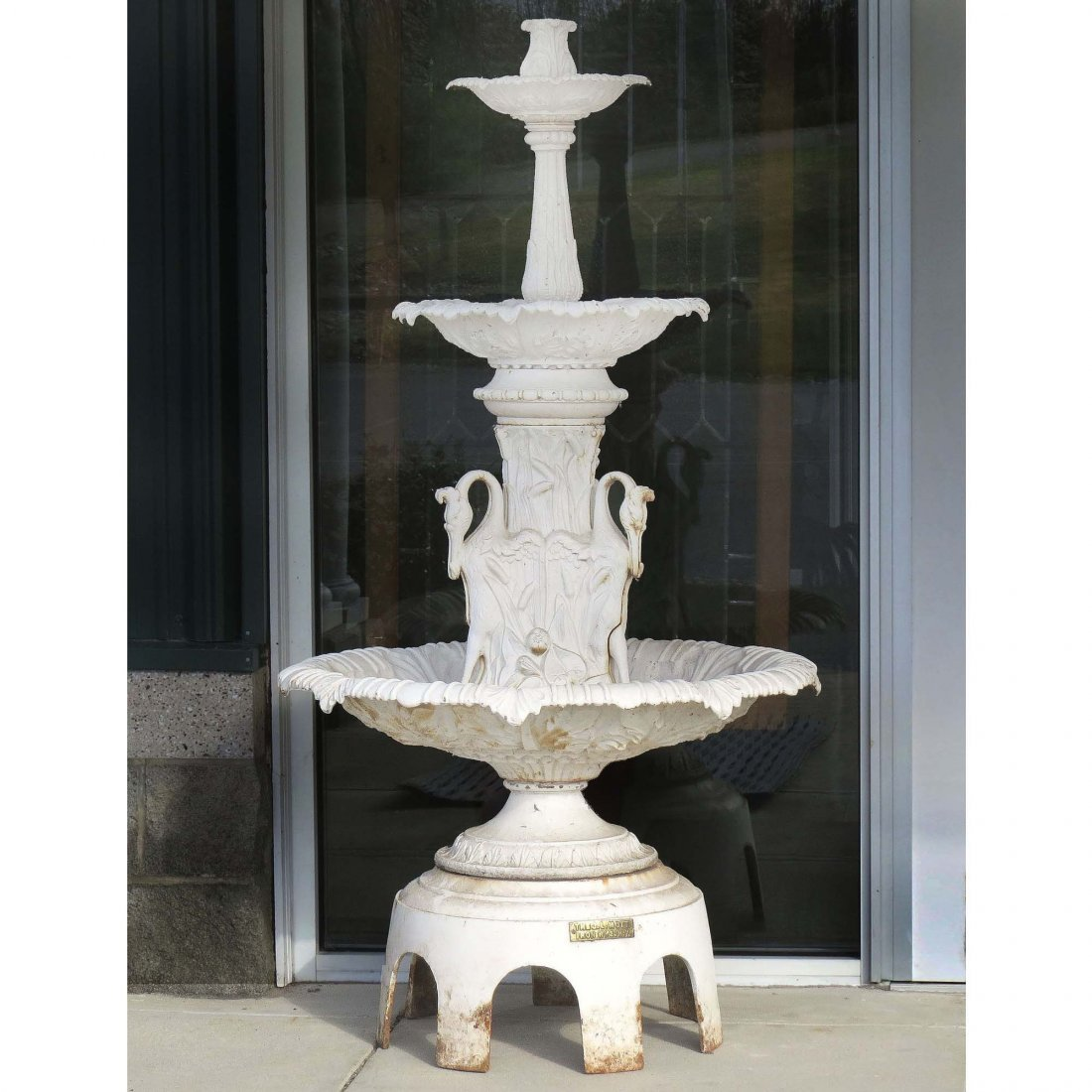 J.L. MOTT, NEW YORK, CAST IRON FOUNTAIN