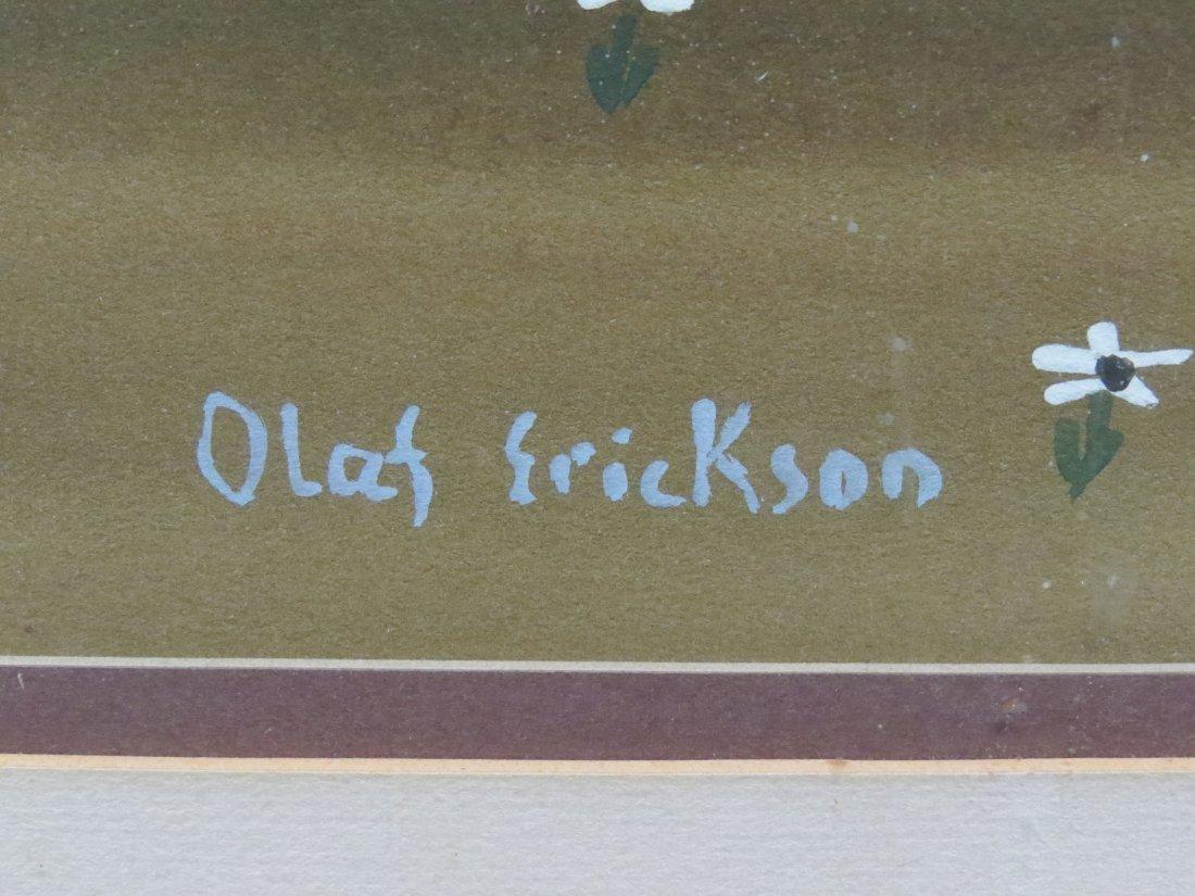 OLAF ERICKSON (SWEDEN 20TH CENTURY) - 3