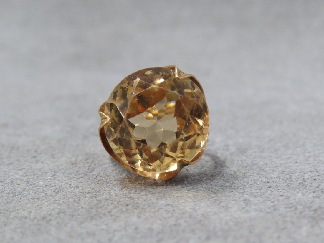 14K YELLOW GOLD AND 11.97CT HELIODOR (BERYL) RING - 2