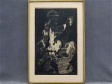 ANDRE RACZ AMERICAN 19161994 SOFT GROUND ETCHING