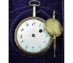 G.JOLLY PARIS GOLD REPEATER POCKETWATCH