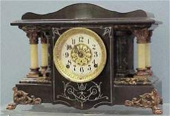 13 SETH THOMAS ADAMANTINE MANTLE CLOCK