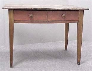 COUNTRY HEPPLEWHITE CHERRY TABLE