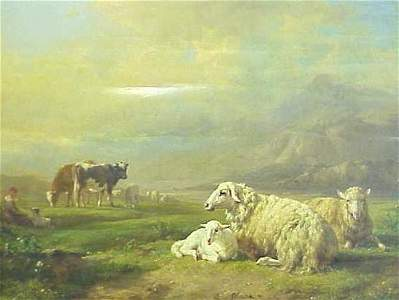 365: OIL ON PANEL, R. BRASCASSAT 1852