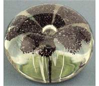 385: EARLY FLORAL PAPERWEIGHT, POSS MILLVILLE