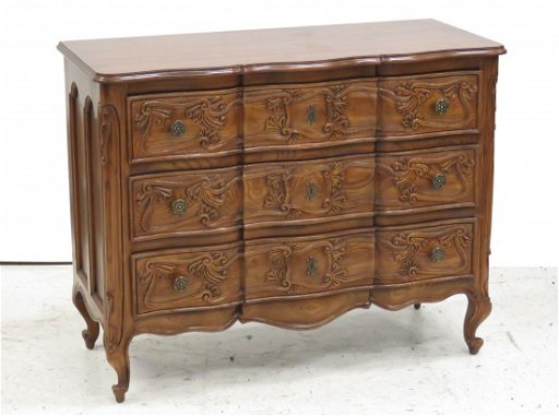 Remarkable Henredon French Provincial Oak 3 Drawer Chest Short Links Chair Design For Home Short Linksinfo