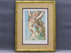 AFTER SALVADOR DALI, LITHOGRAPH SIGNED #301/1000