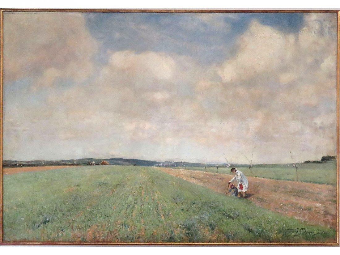 DAVID MURRAY (BRITISH 1849-1933), OIL ON CANVAS