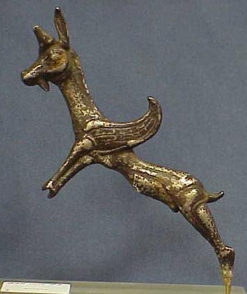 1014: ACHAMID SILVER HANDLE, C.600 BC