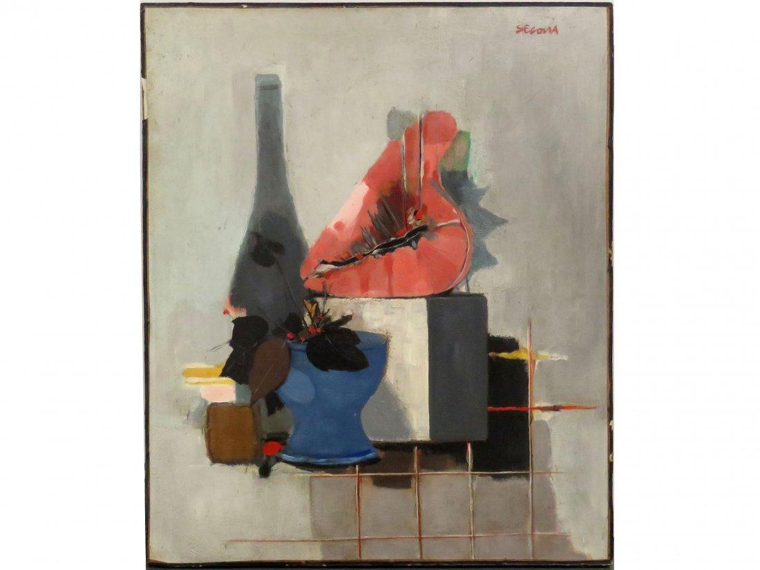 ANDRE SEGOVIA (ARGENTINA/SPAIN 1929-1996), OIL