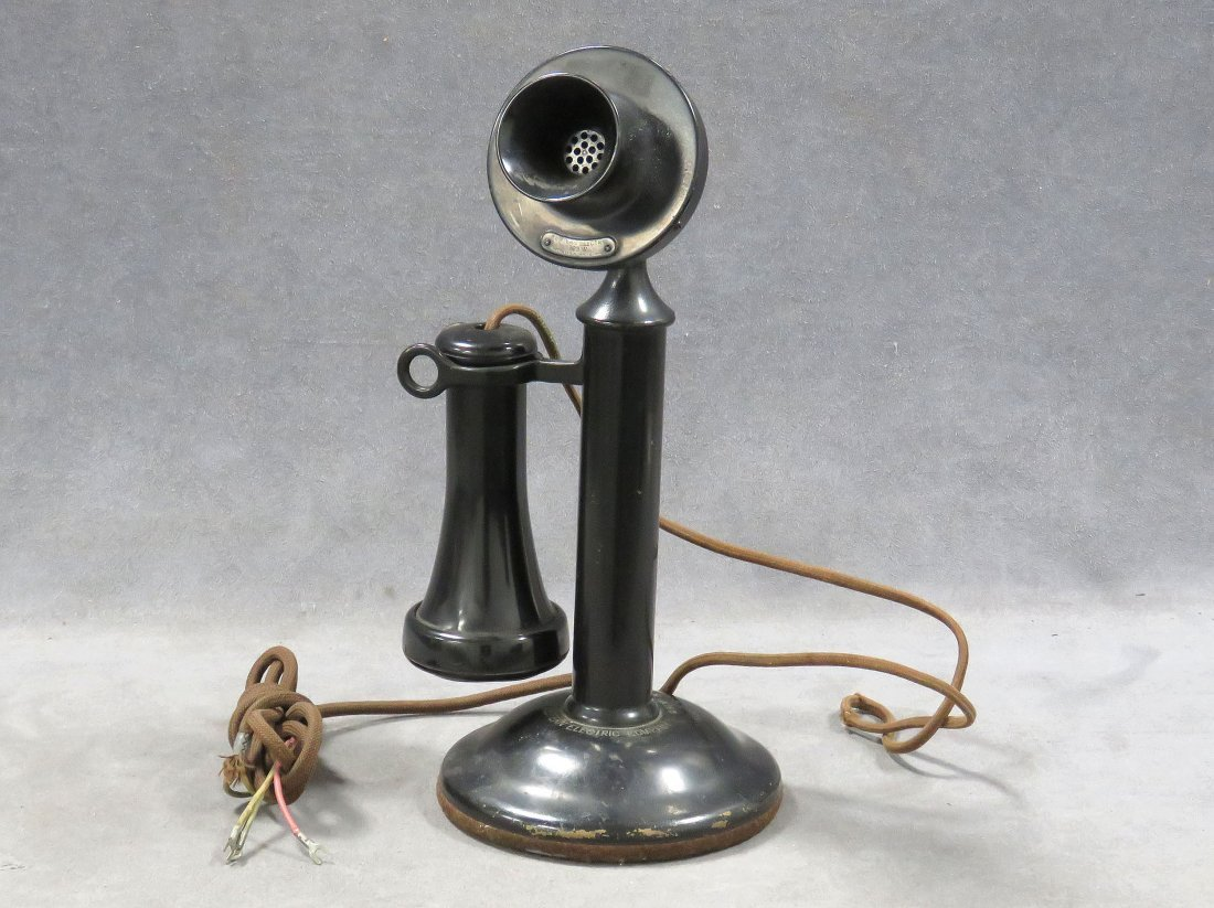 """VINTAGE WESTERN ELECTRIC """"CANDLESTICK"""" TELEPHONE"""