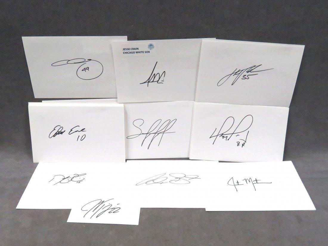 LOT (40) 2013 MLB ALL-STAR AUTOGRAPH/SIGNATURE