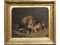 FRIEDRICH WILHELM KEYL (GERMAN 1823-1871), OIL
