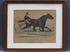 CURRIER  IVES LITHOGRAPH ST JULIEN