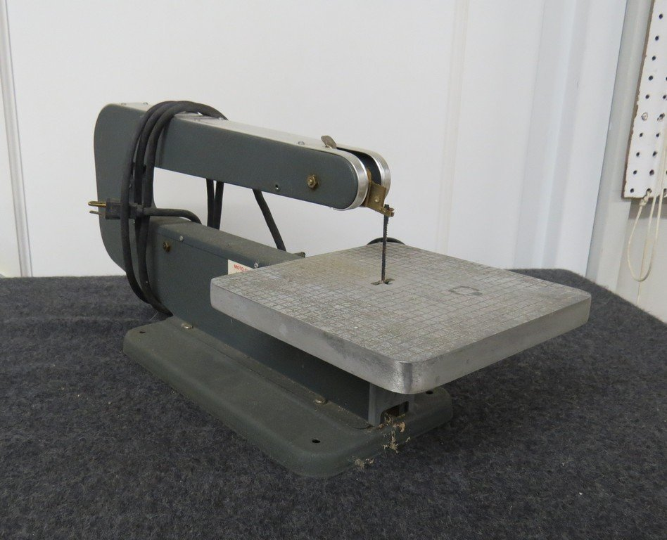 Vintage dremel table top scroll saw and rotary tool for Table th no scroll