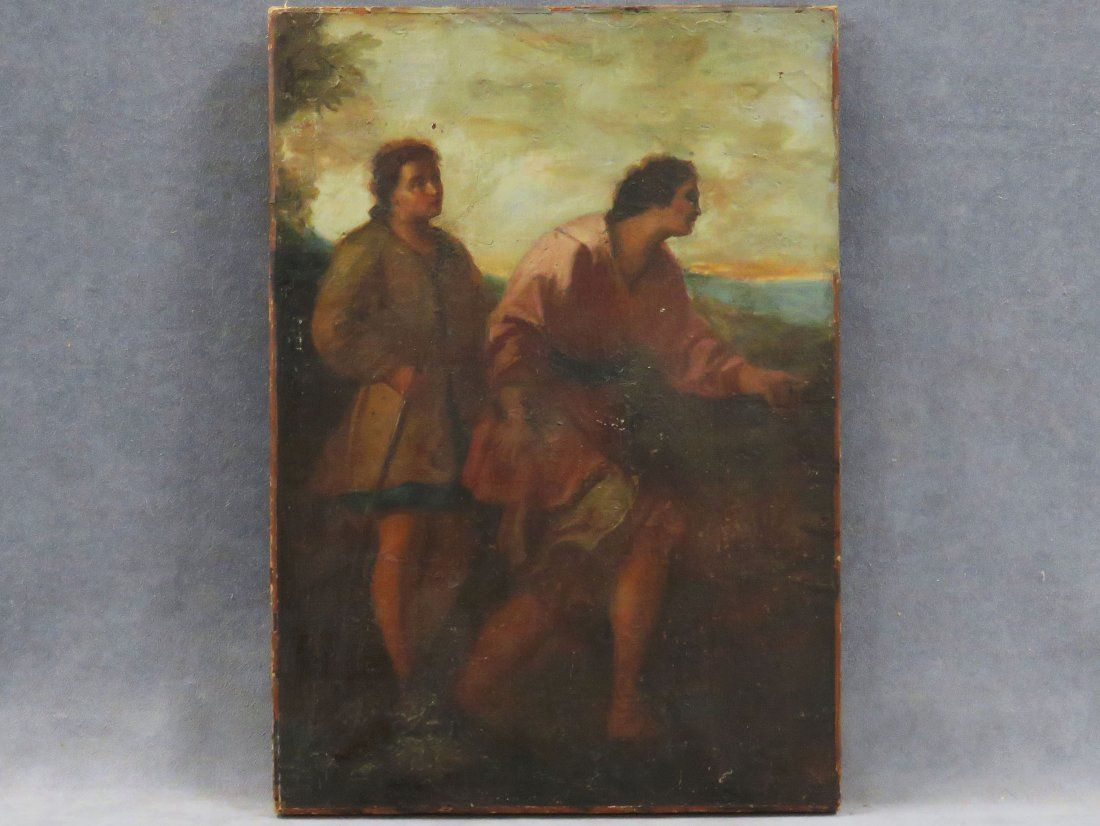 CONTINENTAL SCHOOL (17/18TH CENTURY), OIL ON CANVAS,