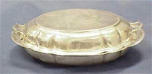 WALLACE STERLING COVERED VEGETABLE DISH