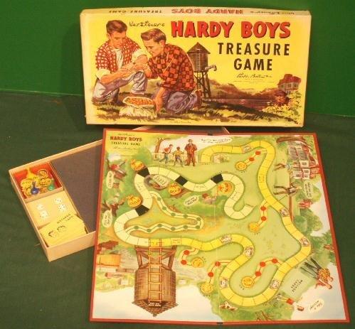 9: VINTAGE WALT DISNEY'S HARDY BOYS TREASURE GAME