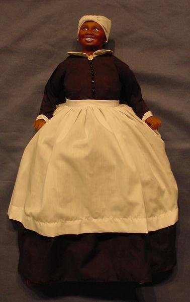 """12: GONE-WITH-THE-WIND """"MAMMY"""" PORCELAIN DOLL"""