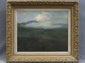 Bayard Henry Tyler (american 1855-1931) Oil On Canvas,