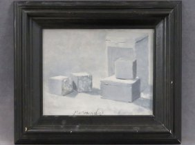 Italian School (20th Century), Oil On Canvas Board,
