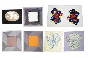 Lot (8) Intaglio Prints Including Lowell Nesbitt