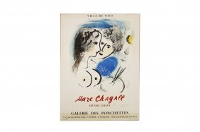 Marc Chagall (french/israeli 1887-1985), Lithographic