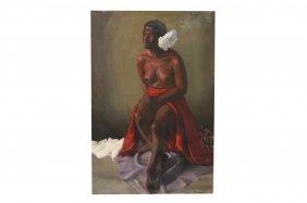 American School (20th Century), Oil On Canvas,