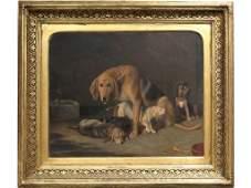 FRIEDRICH WILHELM KEYL (GERMAN 1823-1871), OIL ON