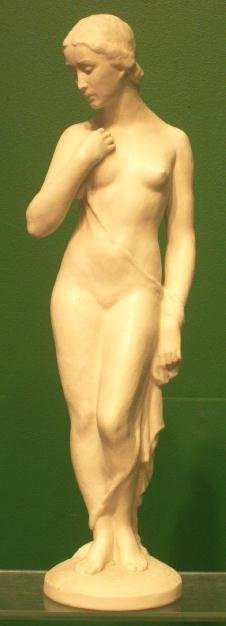1006: ROSENTHAL BLANC DE CHINE FIGURE OF A NUDE