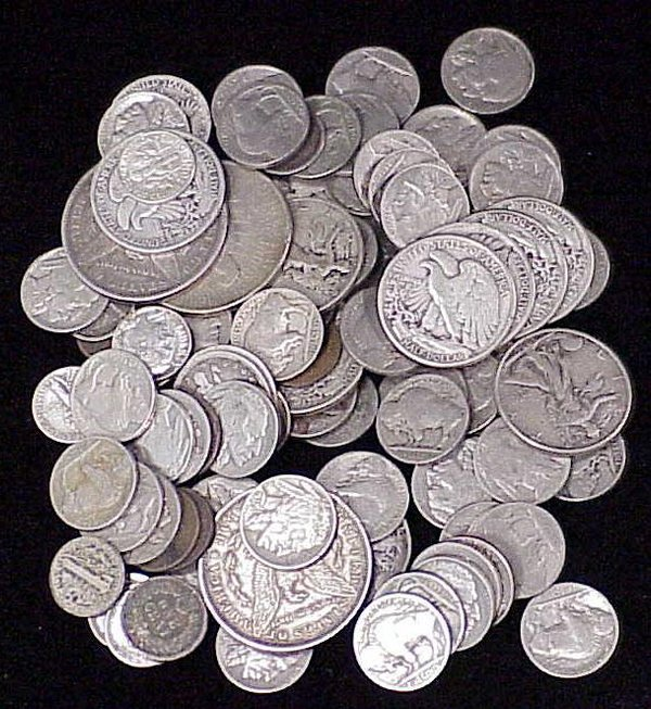 12: LOT (96) ASSORTED U.S. COINS