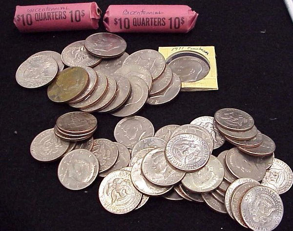 13: LOT ASSORTED US COINS