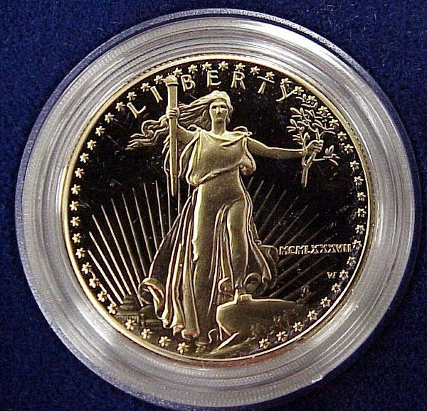20: 1987-W AMERICAN EAGLE $50 GOLD (PROOF)