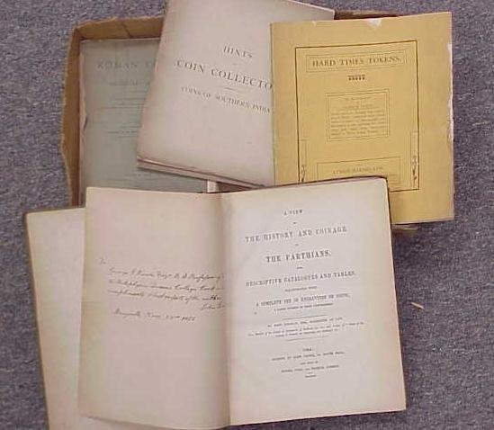 21: (5) VOLS INCL ROMAN COINS-SPINK 1903