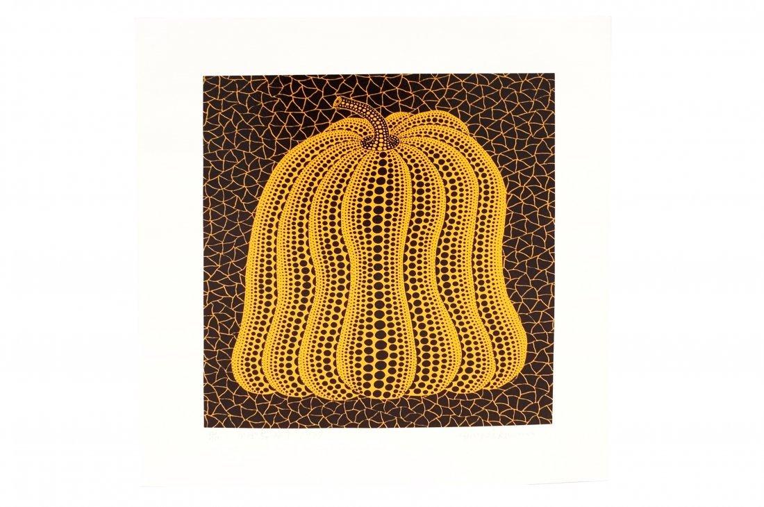 YAYOI KUSAMA (JAPANESE/AMERICAN 1929-) SERIGRAPH,