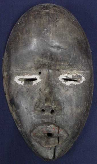 9: DAN CARVED MASK