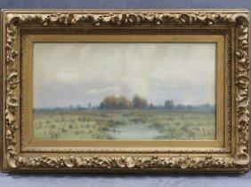 George Howell Gay (american 1858-1931) Watercolor,