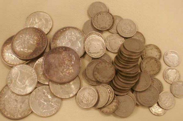 1003: LOT (68) U.S. COINS INCLUDING