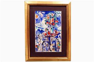 FRENCH SCHOOL (20TH CENTURY), GOUACHE AND WATERCOLOR ON