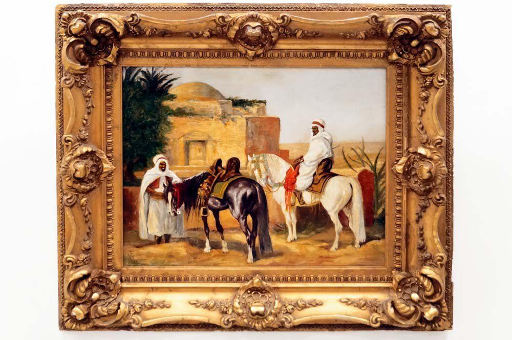 CONTINENTAL SCHOOL (19TH CENTURY), OIL ON CANVAS, ARAB