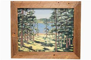 MORRIS SCOVIL (AMERICAN 20TH CENTURY), OIL ON ARTIST