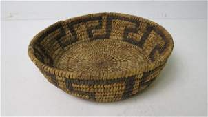 SOUTHWEST AMERICAN INDIAN WOVEN BASKET HEIGHT 3
