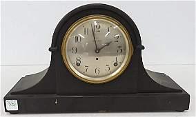 SETH THOMAS MAHOGANY MANTLE CLOCK C1920 HEIGHT 9