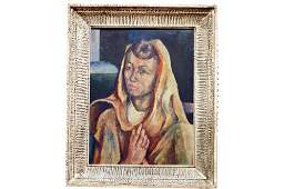 BELLE MARDER (MANES) (AMERICAN/NY 20TH CENTURY), OIL ON